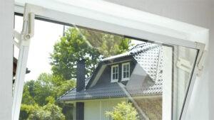 Ausblick aus einem Dreh-Kippfenster