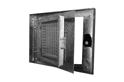 Produktansicht des Stahlkellerfensters SSD einflügelig