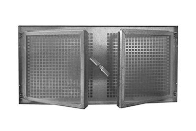 Produktansicht des Stahlkellerfenster SF zweiflügelig